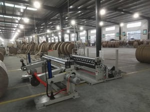 Abrasion Resistant Paper Cutting Machine , 1600C Paper Roll Slitter Rewinding Machine