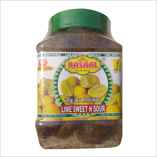 Lime Sweet Pickle