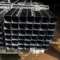 pre galvanized square tube Q195 pre galvanized square /rectangular tube