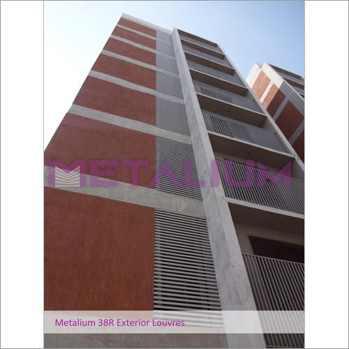 Metallium 38R Exterior Louvres
