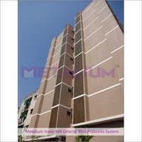 Metalium Make 84R Exterior Metal Louvres System