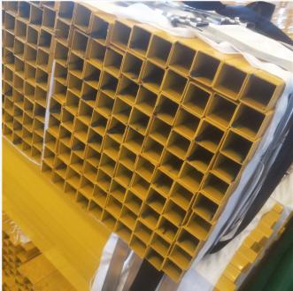 50*50 pre galvanized color square tube