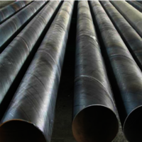 Spiral welded pipe