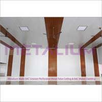 Metalium Make 84C Uneven Perforated Metal False Ceiling & 84C Metal System