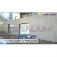 Metalium Linear 84-C Wall Cladding