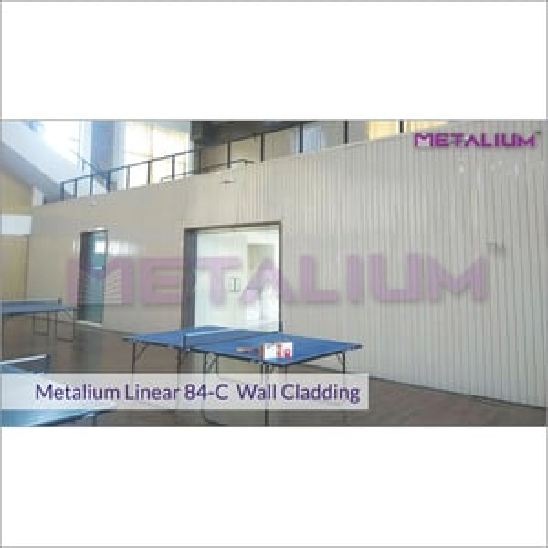Metalium Linear 84-C Wall Cladding