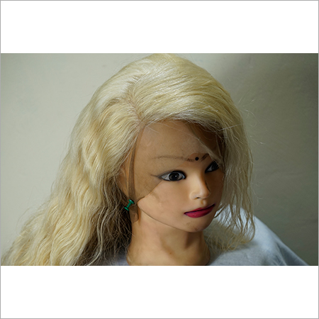 Front Lace Blonde Wavy Wig