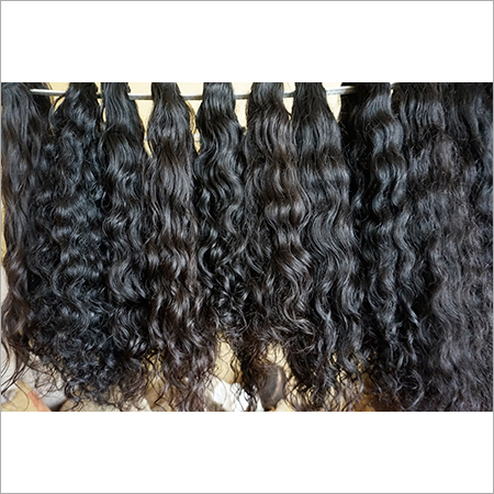 Natural Curly Temple Hair