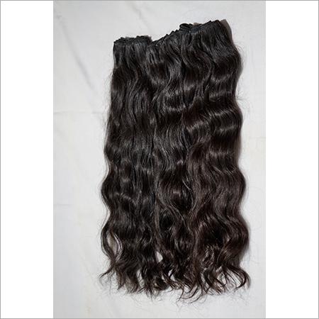Natural Wavy Temple Hair