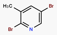 2,5-Dibromo-3-methylpyridine
