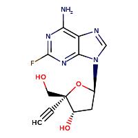 4′-Ethynyl-2-fluoro-2′-deoxyadenosine (EFdA)