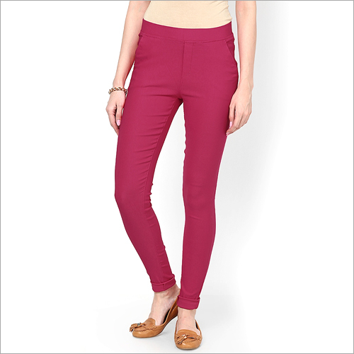 Ladies Cotton Jegging