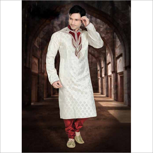 mens Embroidered Work Sherwani