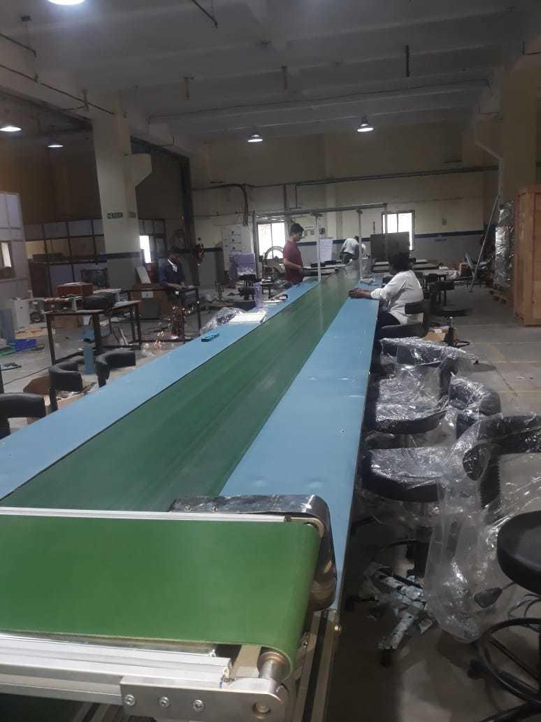 Heat Sink / Flat belt / Roller Conveyor