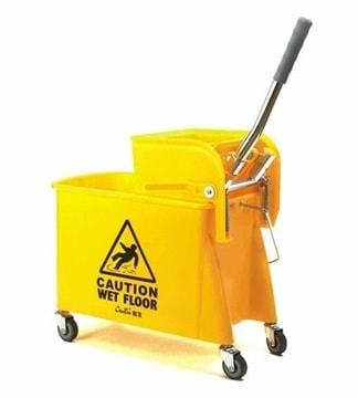 Single Bucket Cleaning Trolley