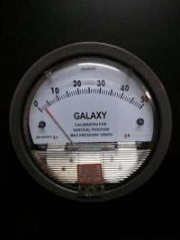 Galaxy Magnehelic Gauge Model G2000-10MM Range 0-10 MM
