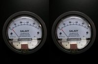 Galaxy Magnehelic Gauge Model G2000-25MM Range 0-25 MM WC