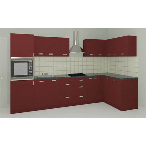 12 X 5 Ft L Shaped Kitchen