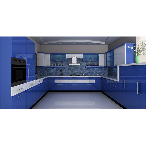 Acrylic Finish Modular Kitchen 071