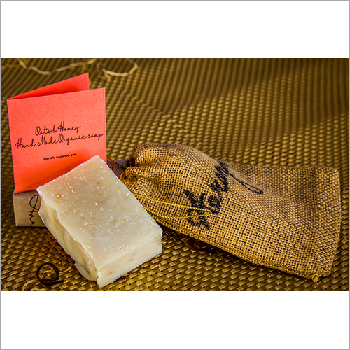 Oats And Honey Exfoliating Body Organic Soap
