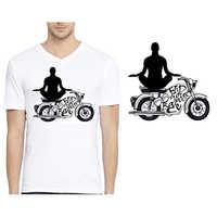 Graphic Print Biowash Cotton T-Shirt  ------    Rs 155/ Piece
