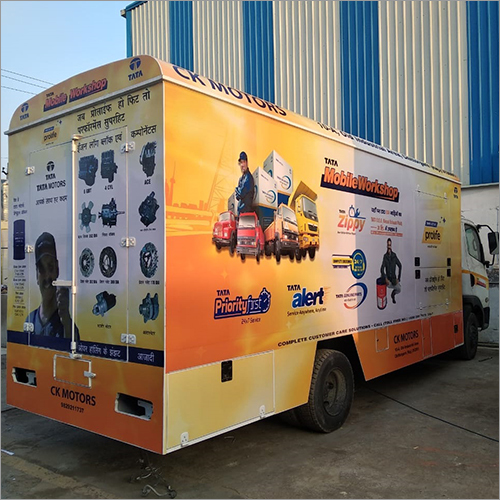 Mobile Van Advertisement Display