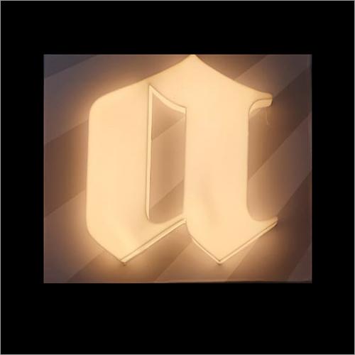 LED 3D Acrylic Letter