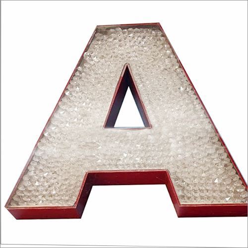 Laser Cutting 3D Acrylic Letter