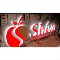 3D Glow Signage Board
