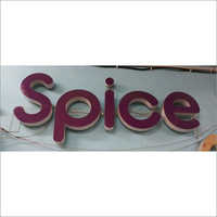 Acrylic Letter Signage Board