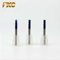 HRC60 Solid Carbide 4 Flutes Corner Radius End Mill