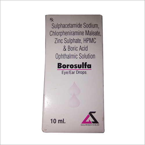 10ml Borosulfa Eye And Ear Drop