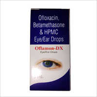 Ofloxacin Betamethasone And HPMC Eye And Ear Drop
