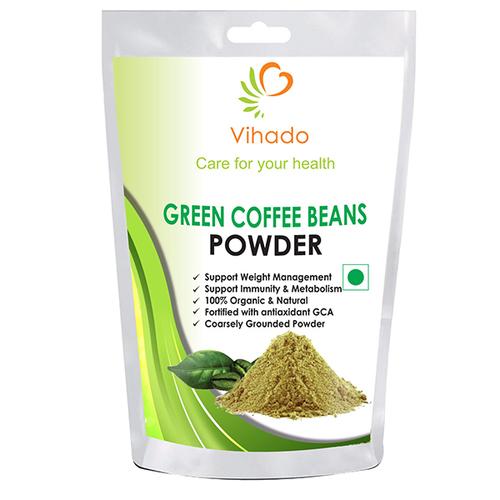 Vihado Green Coffee Beans Powder