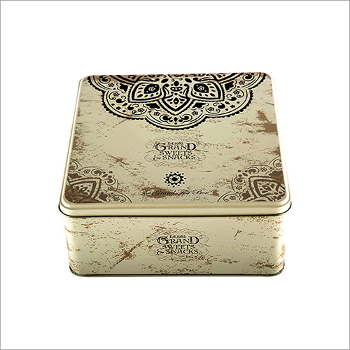 Sweet Box Tins Container