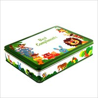 Gift Box Tin Container
