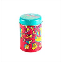 Printed Candle Tin Container