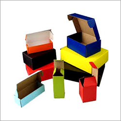 Colour Corrugated Box