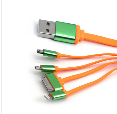 4 to 1 data flat cable
