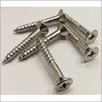 Stainless Steel Phillips Head Wood Screw