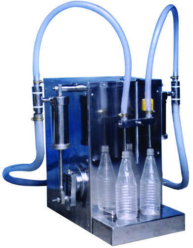 gravity liquid filling machine