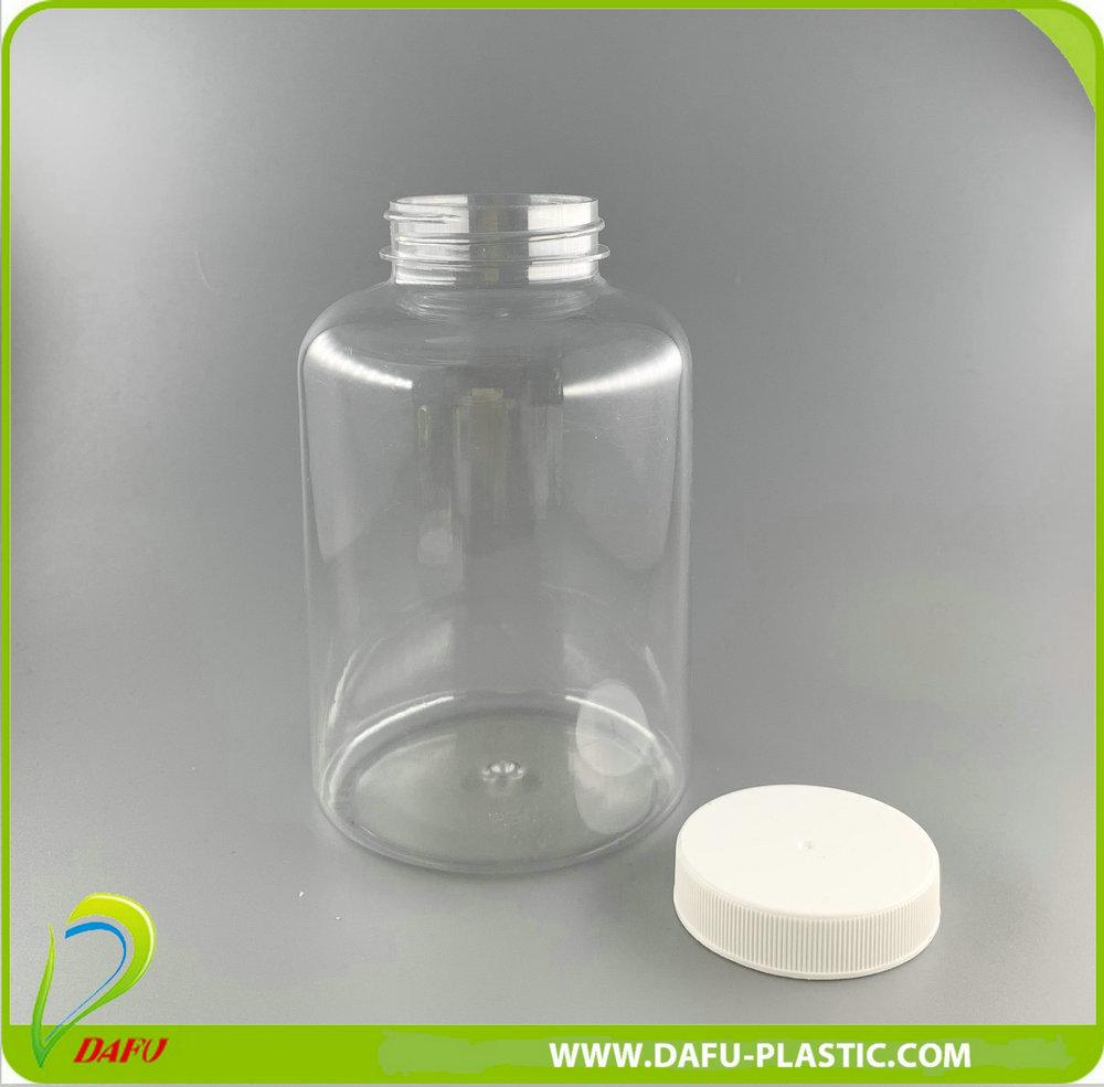 500ml Pet Pill Plastic Bottle with Plastic Cap