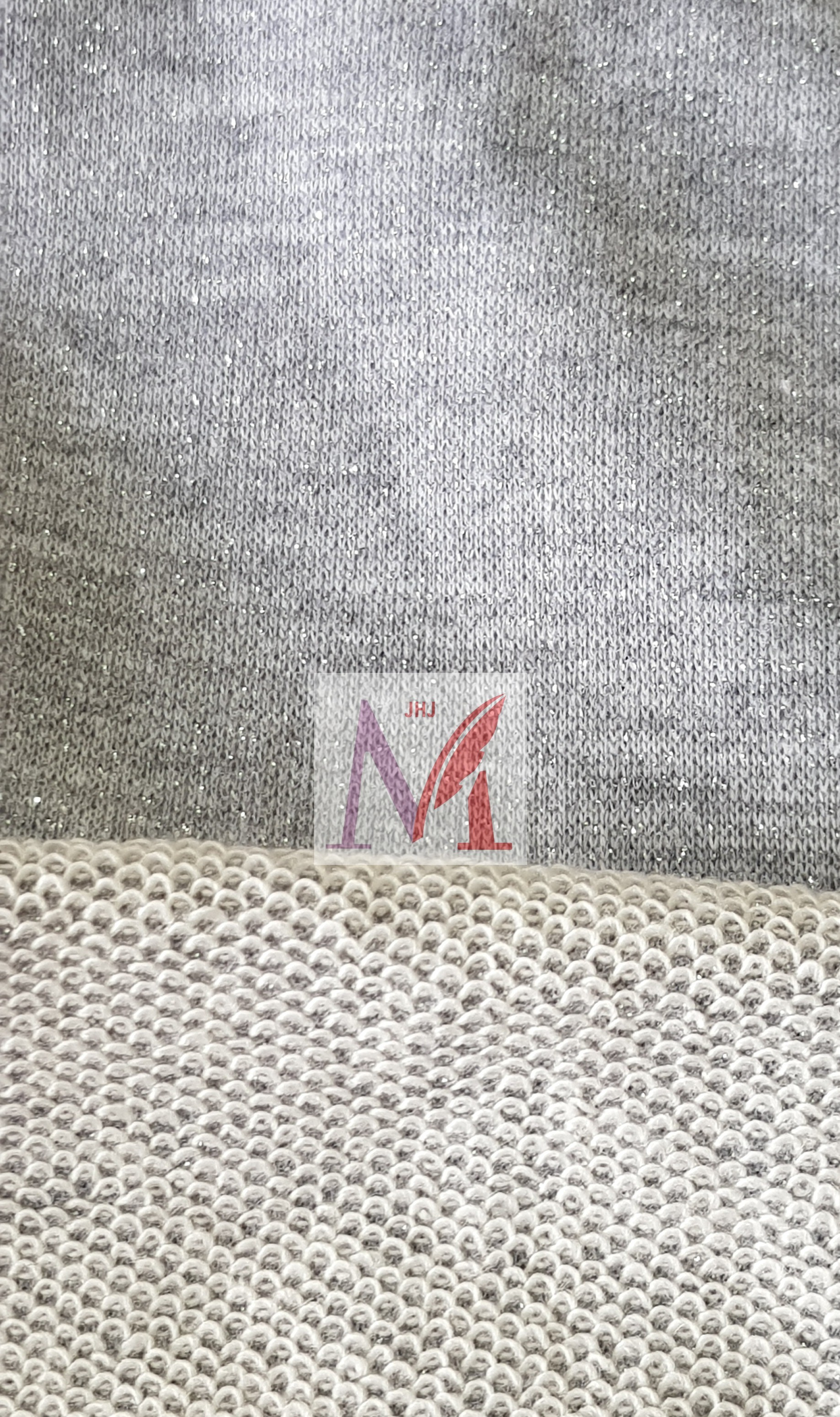 Lurex French Terry Fabric
