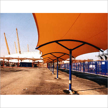 Walkways Covering Structure
