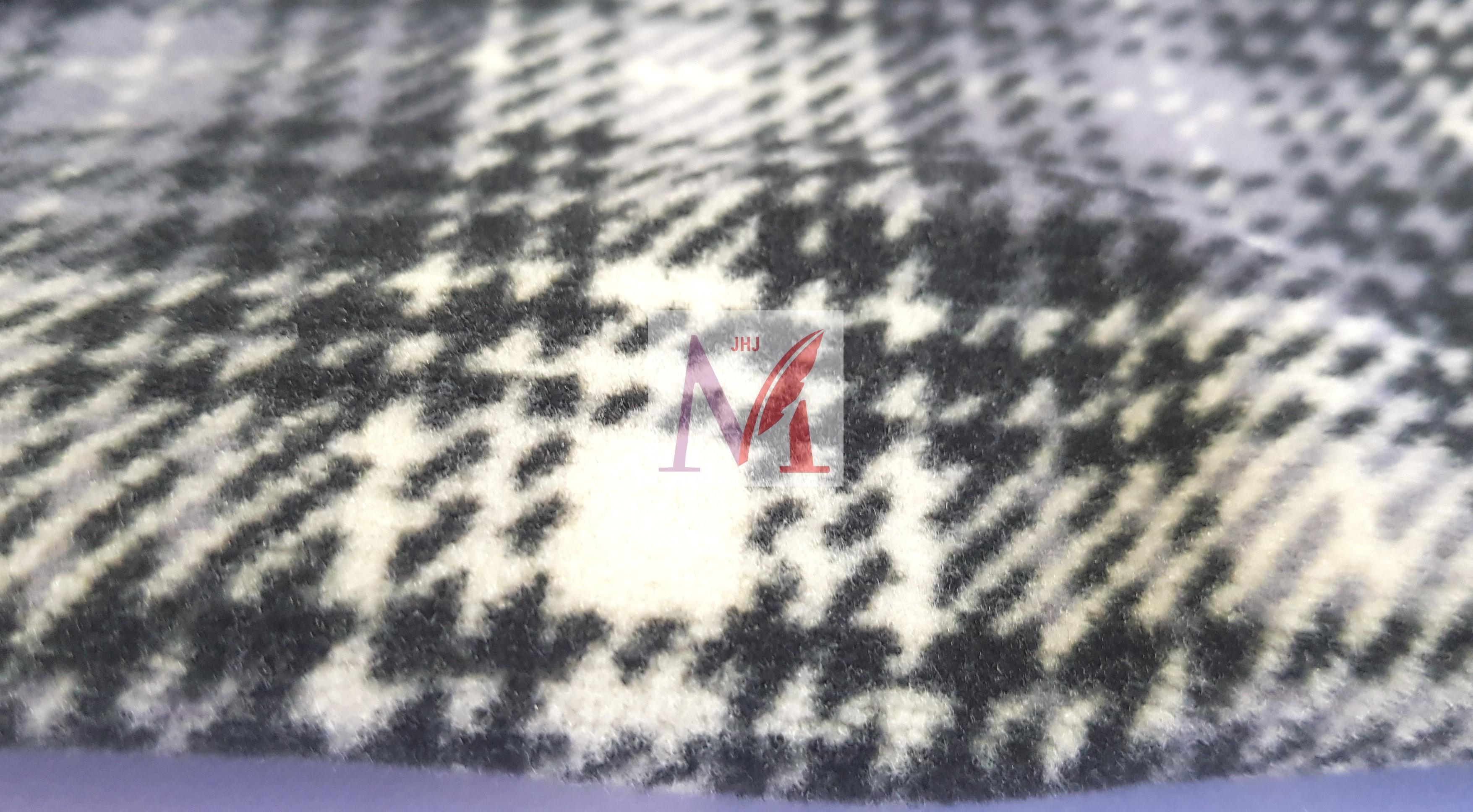 Printed Knitted Polar Fleece Fabric