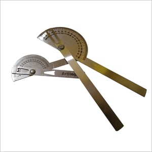 Actopus Metal Protractor Angle Finder Rotary Ruler