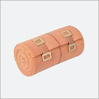 Orange Cotton Crepe Bandage