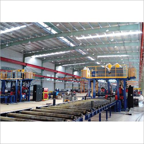 H Beam Horizontal Line Welding Machine