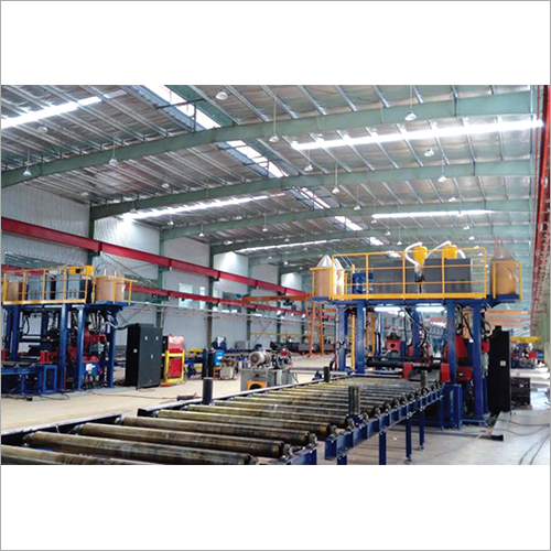 H Beam Horizontal Line Welding Machine