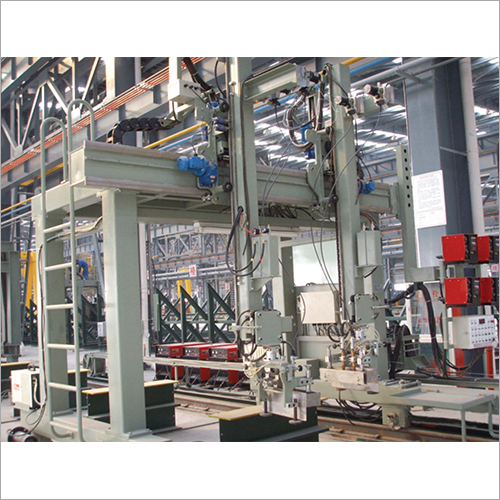 Box Beam Submerged Arc Welding Machine